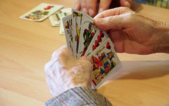 Altersheim St. Leonhard Kartenspielen