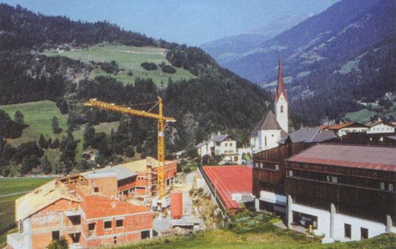 Altersheim St. Leonhard Bau