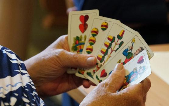 Altersheim St. Leonhard Kartenspiel